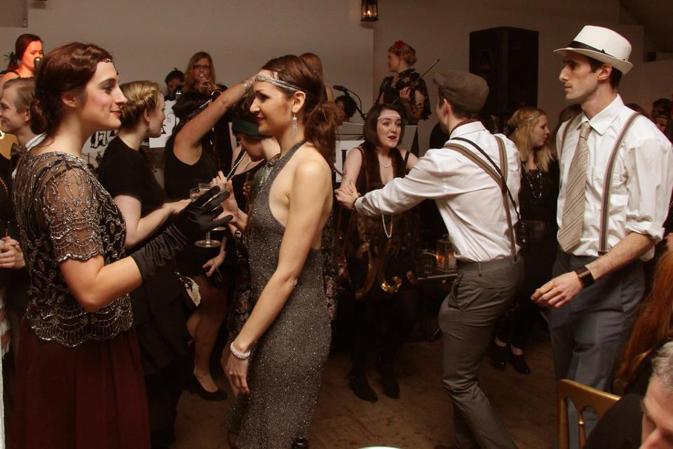 1920s JazzSwing Night With The Lucky Dog Dance Band