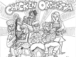 Monday With Strouzer's Four Piece Chicken Orchestra + Lostboy